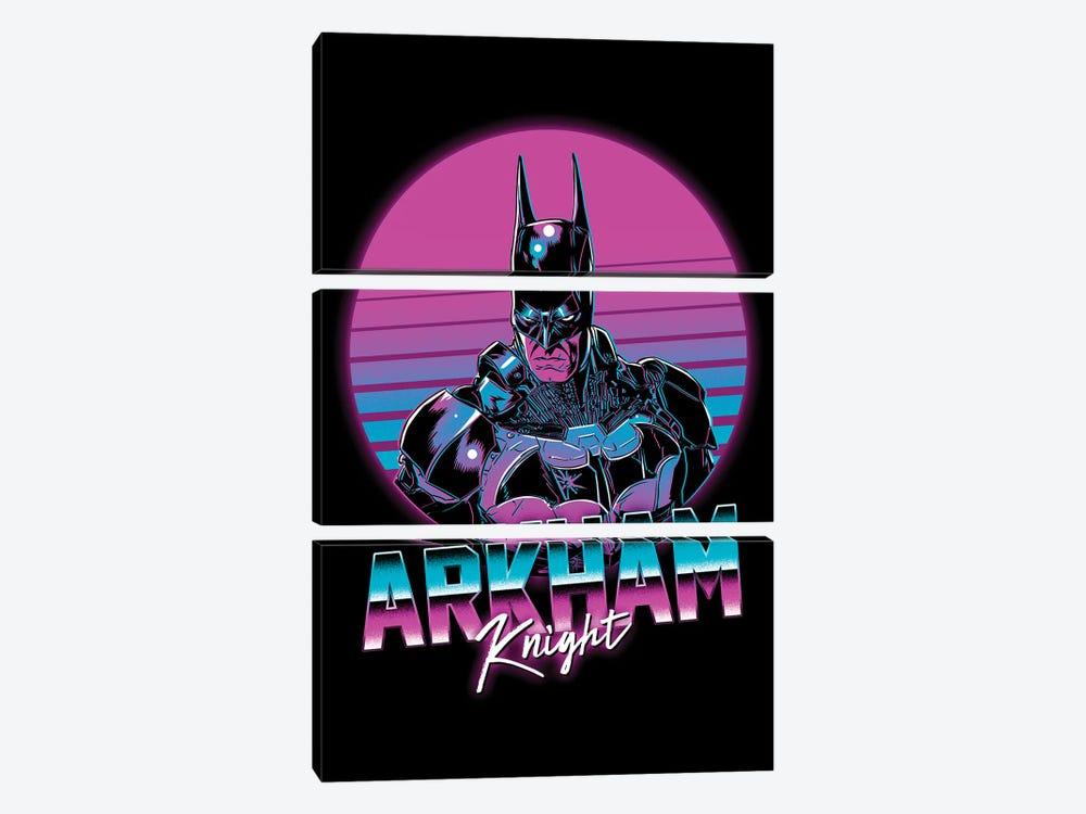 Arkham Knight by Denis Orio Ibañez 3-piece Canvas Art