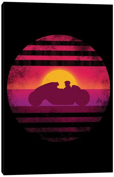 High-Tech Motorcycle Canvas Art Print