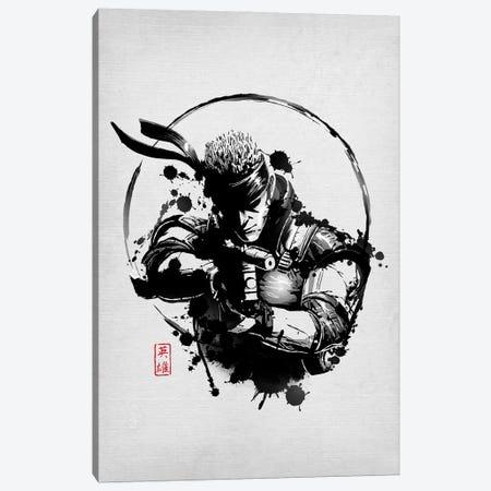 Legendary Hero Canvas Print #DOI234} by Denis Orio Ibañez Canvas Art