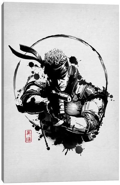 Legendary Hero Canvas Art Print