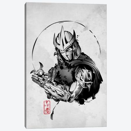 Ninja Villain Canvas Print #DOI236} by Denis Orio Ibañez Canvas Artwork