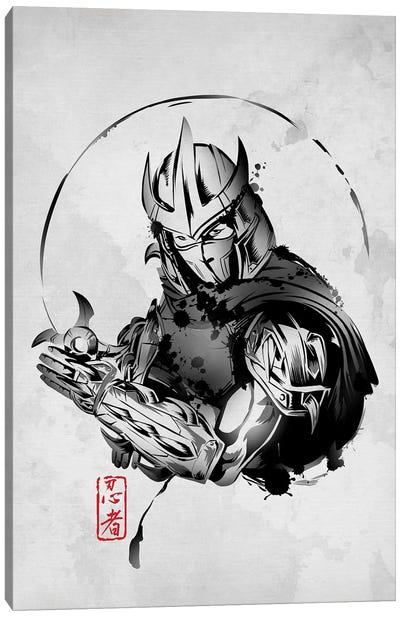 Ninja Villain Canvas Art Print