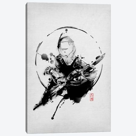 Perfect Soldier Canvas Print #DOI237} by Denis Orio Ibañez Canvas Artwork