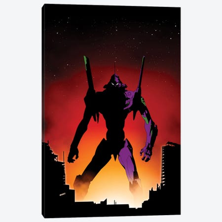 Unit-01 Canvas Print #DOI24} by Denis Orio Ibañez Canvas Print