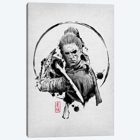 Shinobi Warrior Canvas Print #DOI253} by Denis Orio Ibañez Canvas Print