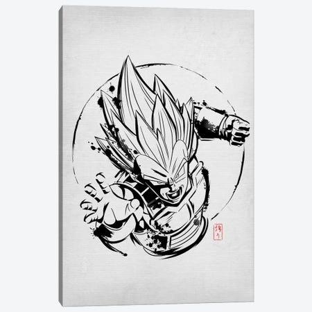 SSJ Prince Canvas Print #DOI254} by Denis Orio Ibañez Canvas Art