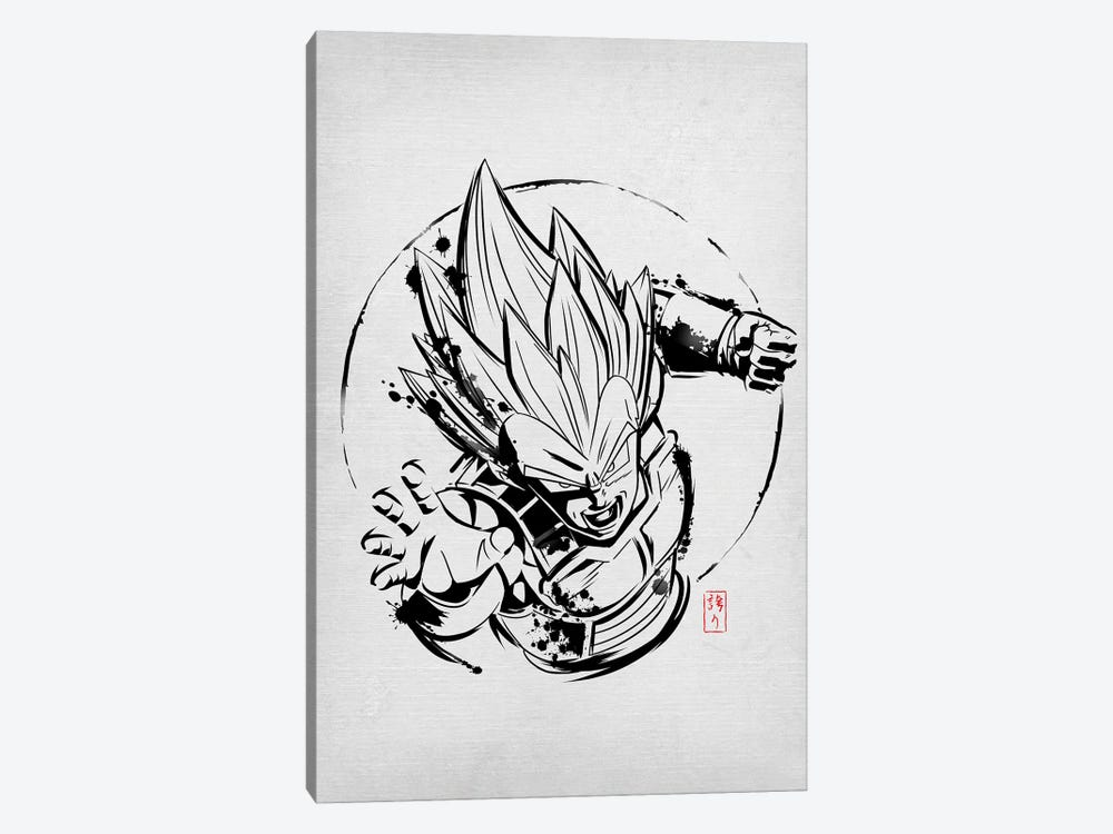 SSJ Prince by Denis Orio Ibañez 1-piece Canvas Art
