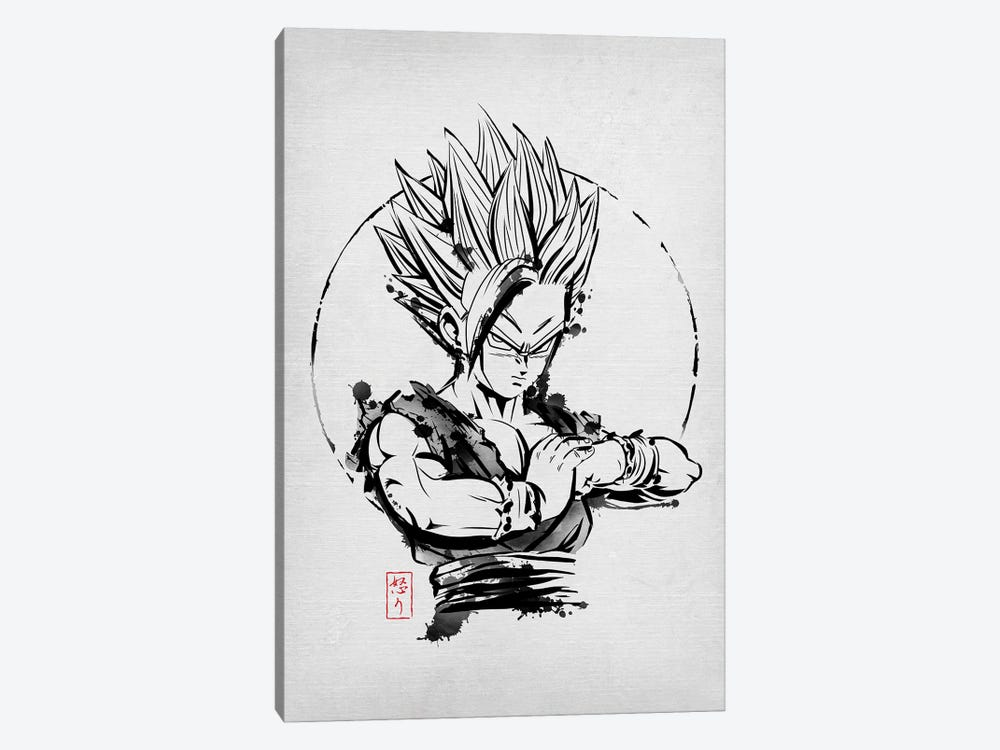 SSJ Rage by Denis Orio Ibañez 1-piece Canvas Artwork