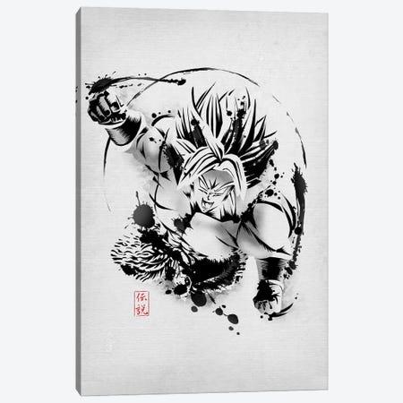 Full Power Legendary Canvas Print #DOI264} by Denis Orio Ibañez Art Print