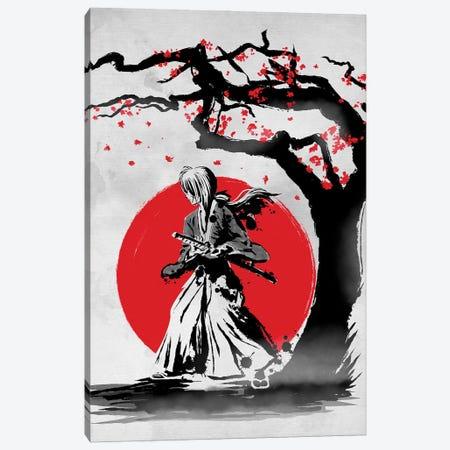 Wandering Samurai Canvas Print #DOI26} by Denis Orio Ibañez Canvas Art Print
