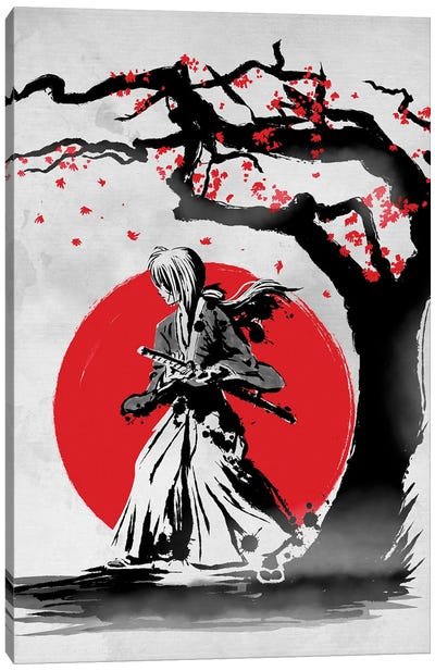 Wandering Samurai Canvas Art Print