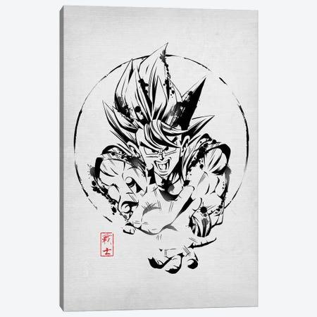 Warrior Of Earth Canvas Print #DOI286} by Denis Orio Ibañez Canvas Art Print