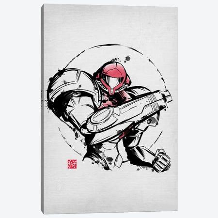 Ink Power Suit Canvas Print #DOI291} by Denis Orio Ibañez Canvas Print