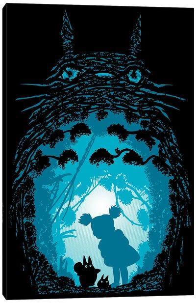 Forest Spirits Canvas Art Print