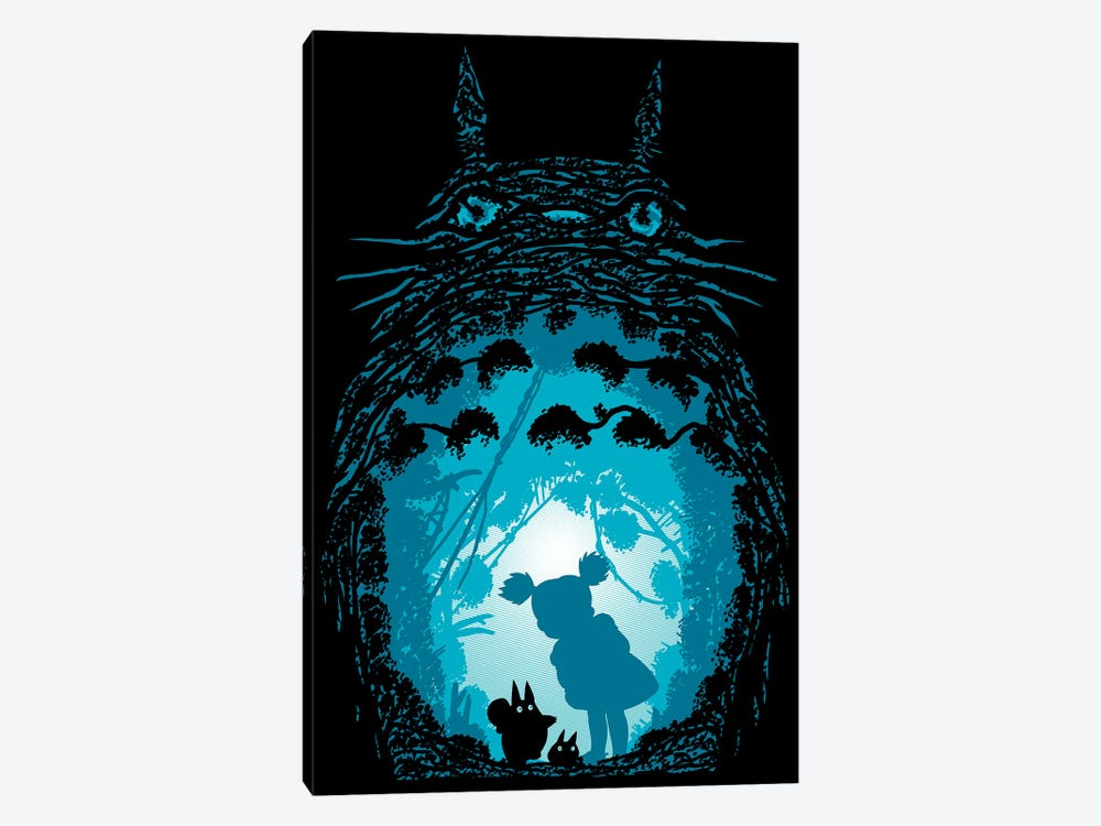 Forest Spirits by Denis Orio Ibañez 1-piece Canvas Wall Art