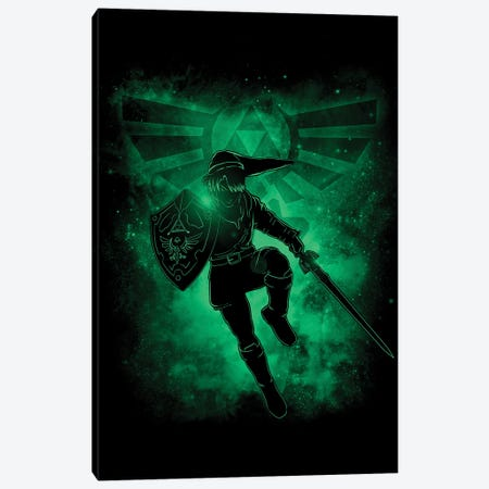 Hero And Legend Canvas Print #DOI297} by Denis Orio Ibañez Canvas Artwork