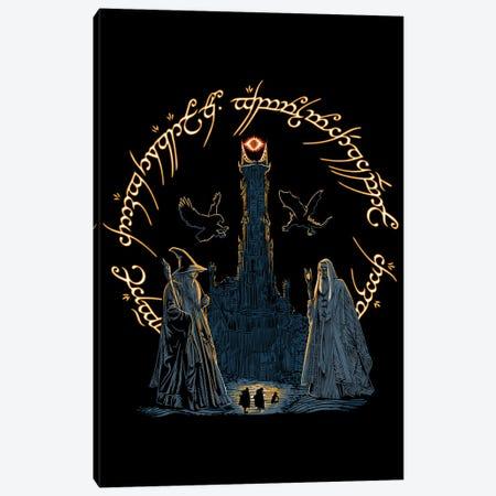 Journey Through Middle-Earth Canvas Print #DOI299} by Denis Orio Ibañez Art Print