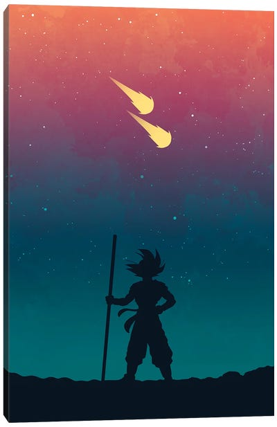 Arrival Of The Saiyans Canvas Art Print