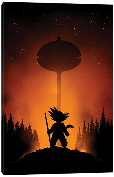 Karin Tower Canvas Art Print