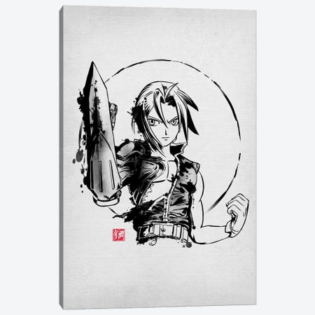 Ink Metal Ed Canvas Print #DOI305} by Denis Orio Ibañez Canvas Wall Art