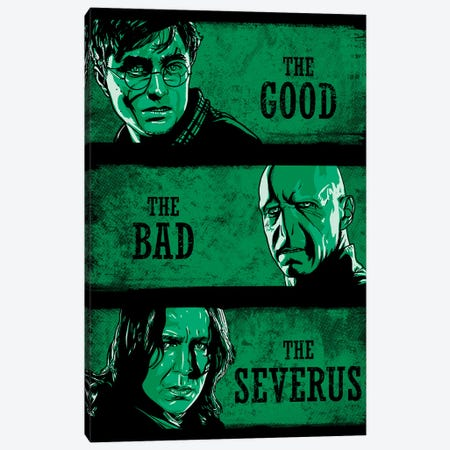 The Good The Bad And The Severus Canvas Print #DOI328} by Denis Orio Ibañez Canvas Art Print