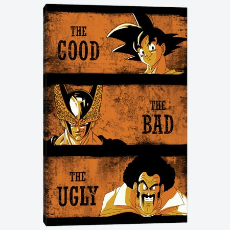 The Good The Bad And The Ugly Canvas Print #DOI329} by Denis Orio Ibañez Canvas Art Print