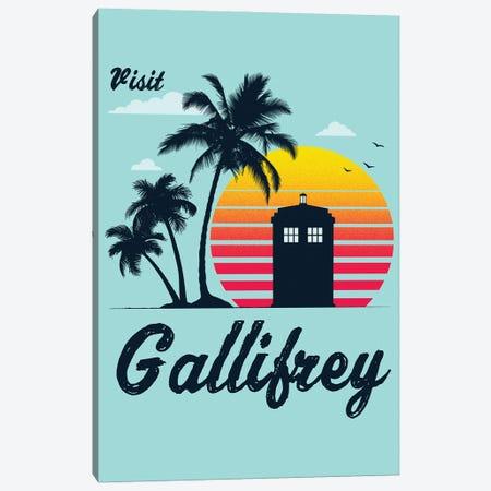 Visit Gallifrey Canvas Print #DOI332} by Denis Orio Ibañez Canvas Artwork