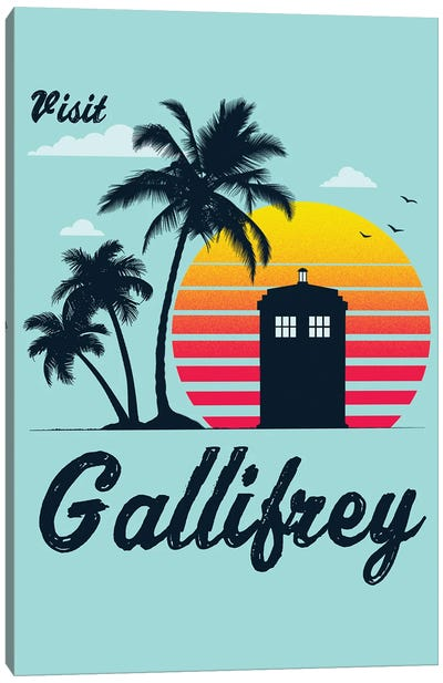 Visit Gallifrey Canvas Art Print