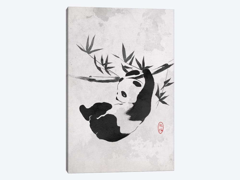 Giant Panda by Denis Orio Ibañez 1-piece Canvas Art