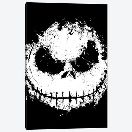Ink Nightmare Canvas Print #DOI351} by Denis Orio Ibañez Canvas Wall Art