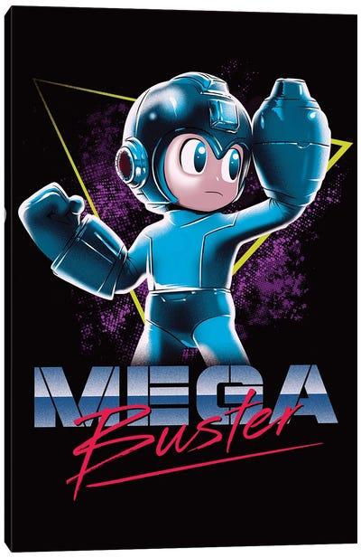 Mega Buster Canvas Art Print