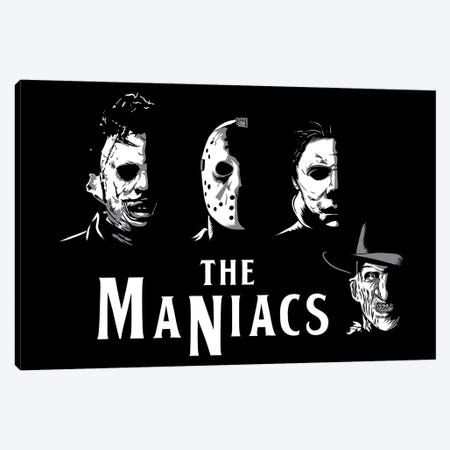 The Maniacs Canvas Print #DOI368} by Denis Orio Ibañez Canvas Art Print