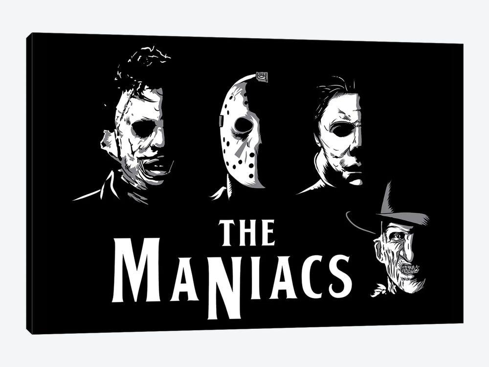 The Maniacs by Denis Orio Ibañez 1-piece Canvas Art