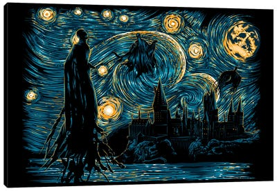Starry Dementors Canvas Art Print