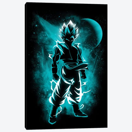 Fusion Warrior Canvas Print #DOI37} by Denis Orio Ibañez Canvas Wall Art