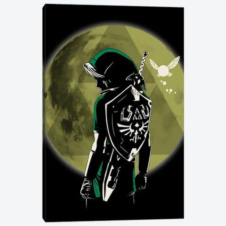 A Legendary Hero Canvas Print #DOI386} by Denis Orio Ibañez Canvas Wall Art