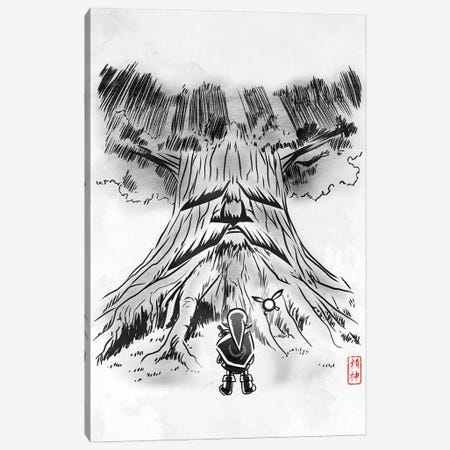 Guardian Spirit Canvas Print #DOI393} by Denis Orio Ibañez Canvas Artwork