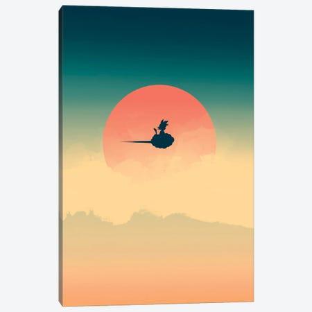 Hero In The Sky Canvas Print #DOI39} by Denis Orio Ibañez Art Print