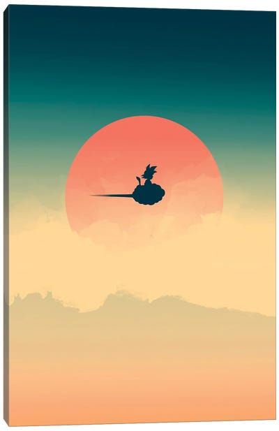 Hero In The Sky Canvas Art Print
