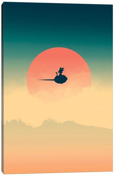 Hero In The Sky Canvas Art Print