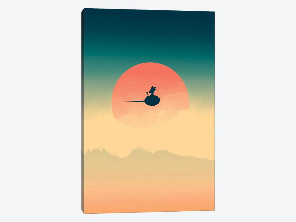 Hero In The Sky by Denis Orio Ibañez 1-piece Canvas Art