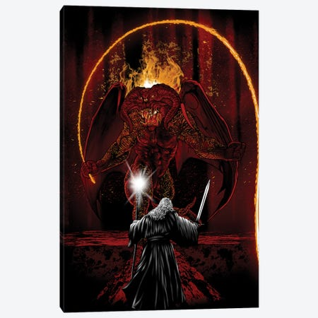 Demon Of The Ancient World Canvas Print #DOI400} by Denis Orio Ibañez Canvas Artwork
