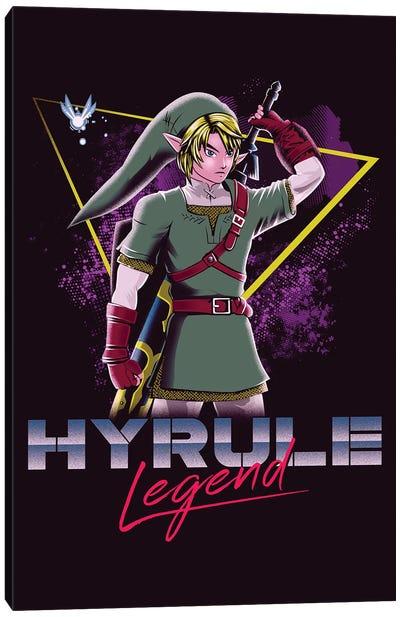 Hyrule Legend Canvas Art Print
