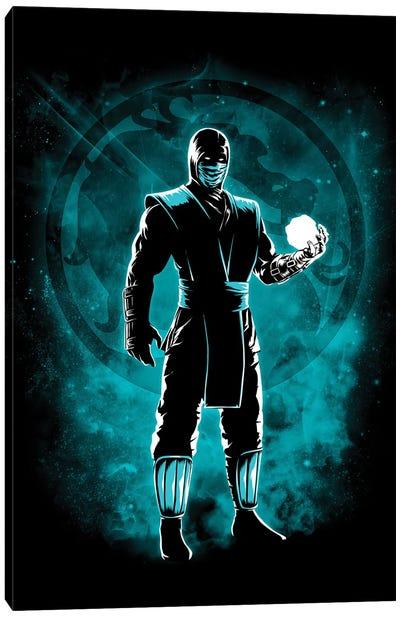 Ice Ninja Canvas Art Print