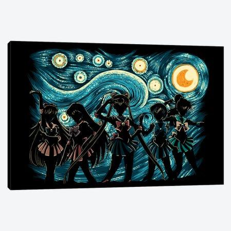 Sailor's Night Canvas Print #DOI427} by Denis Orio Ibañez Art Print