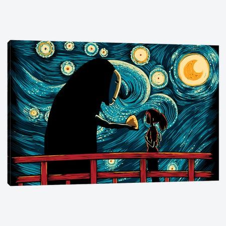 Starry Spirits Canvas Print #DOI431} by Denis Orio Ibañez Canvas Print