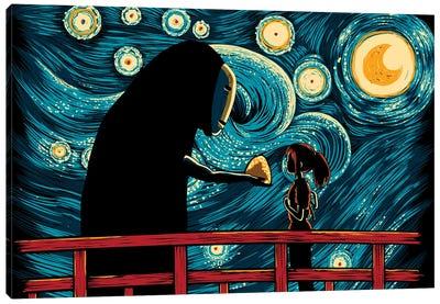 Starry Spirits Canvas Art Print