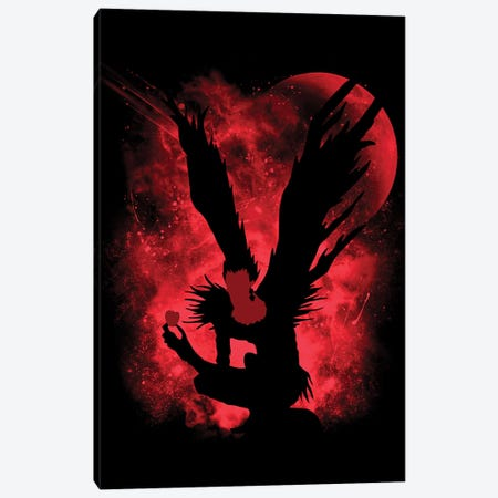 God Of Death Canvas Print #DOI437} by Denis Orio Ibañez Canvas Artwork