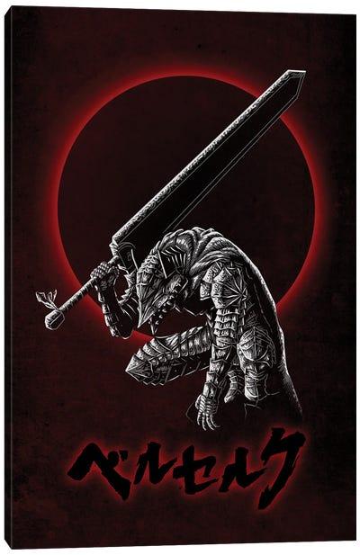 Berserker Armor Canvas Art Print