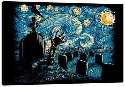 Starry Night Z Canvas Art Print